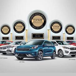 2017 Kia J.D Power Awards
